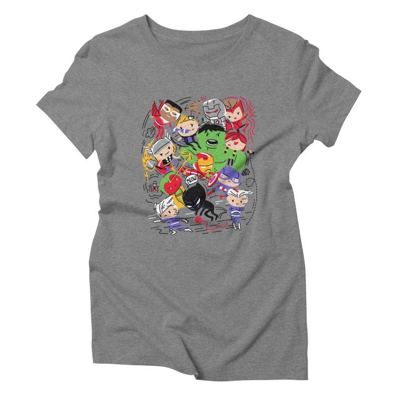 Kidvengers Women's Triblend T-Shirt by danielstevens's Artist Shop
