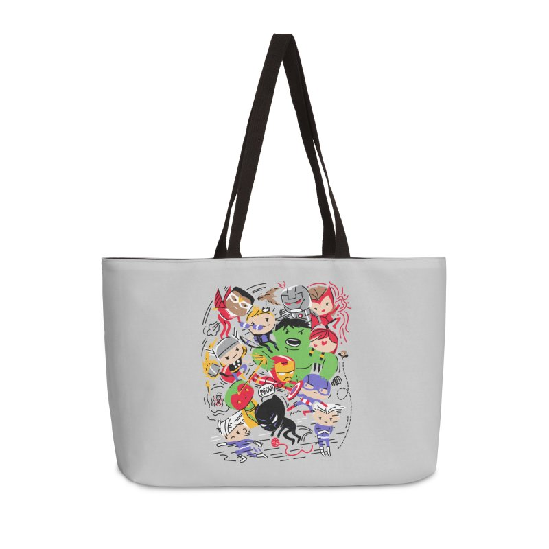 Kidvengers Accessories Weekender Bag Bag by Daniel Stevens's Artist Shop