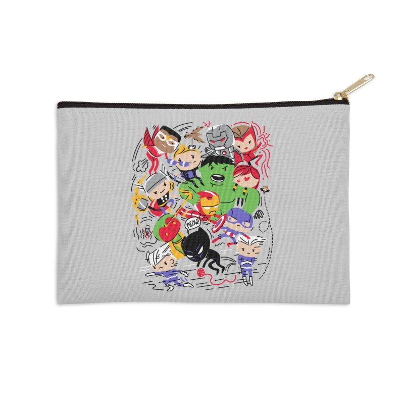 Kidvengers Accessories Zip Pouch by Daniel Stevens's Artist Shop