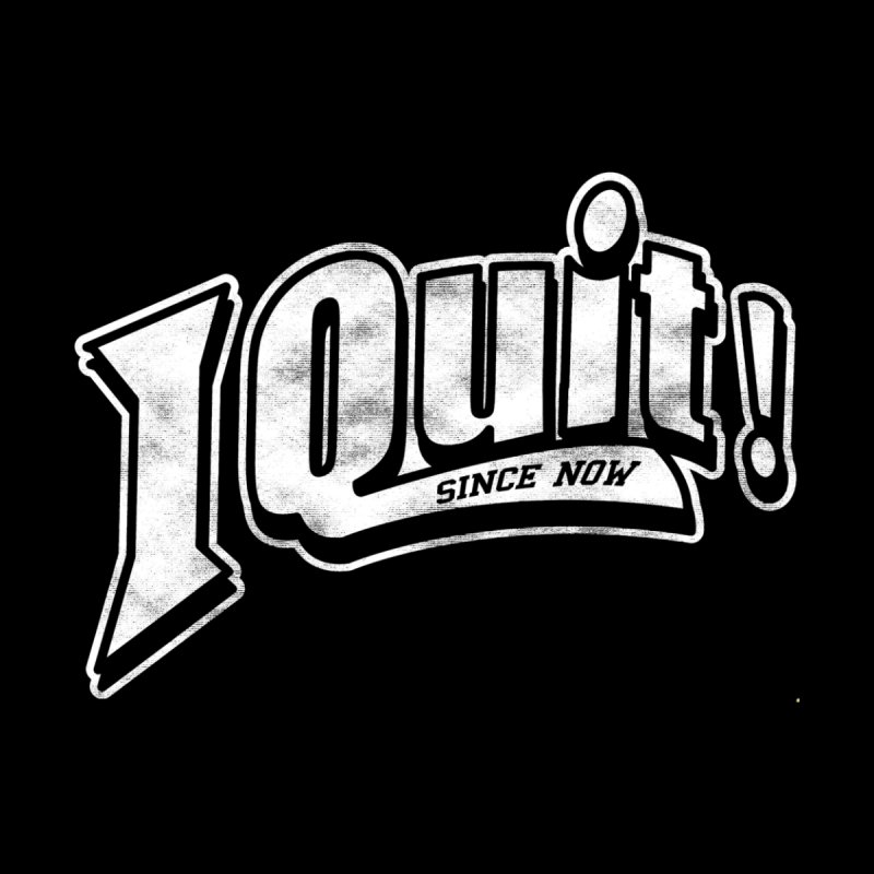 I quit! Men's T-Shirt by Daniel Stevens's Artist Shop