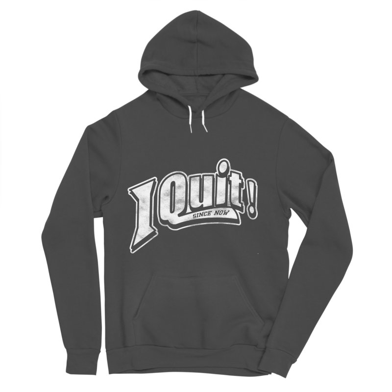 I quit! Men's Sponge Fleece Pullover Hoody by danielstevens's Artist Shop