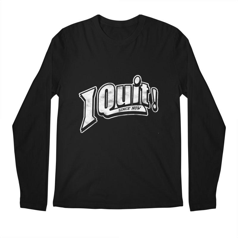 I quit! Men's Regular Longsleeve T-Shirt by danielstevens's Artist Shop