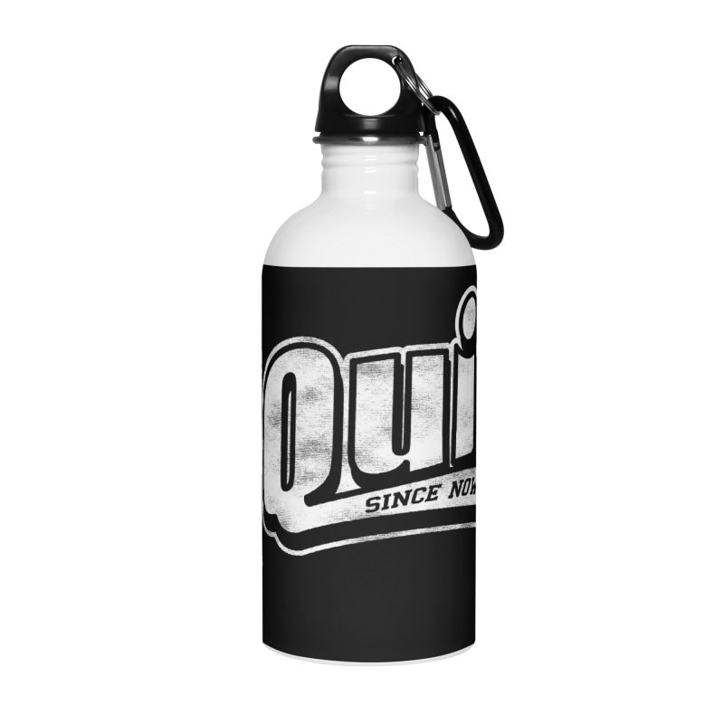 I quit! Accessories Water Bottle by Daniel Stevens's Artist Shop