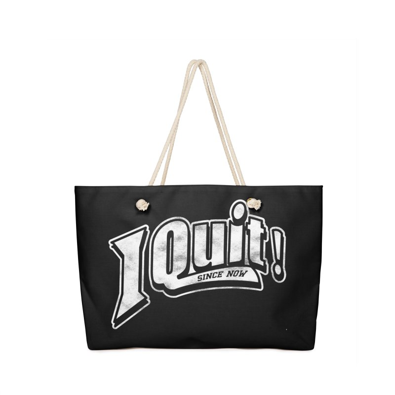 I quit! Accessories Bag by Daniel Stevens's Artist Shop