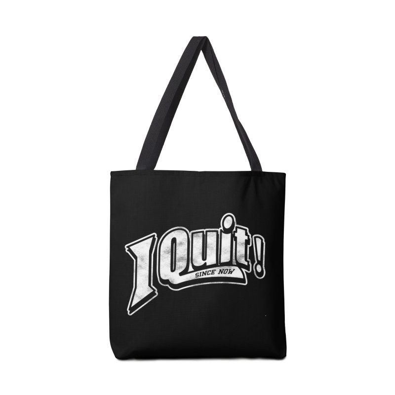 I quit! in Tote Bag by Daniel Stevens's Artist Shop