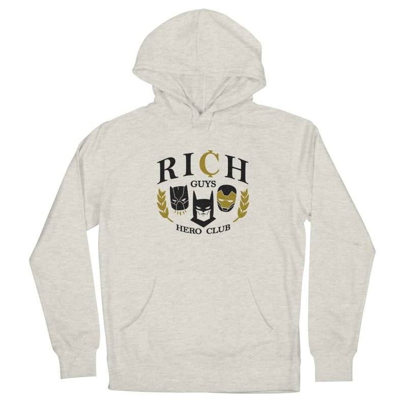 Rich Guys Hero Club Men's Pullover Hoody by Daniel Stevens's Artist Shop