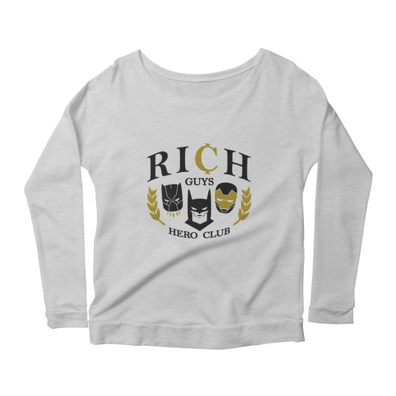 Rich Guys Hero Club Women's Longsleeve T-Shirt by Daniel Stevens's Artist Shop