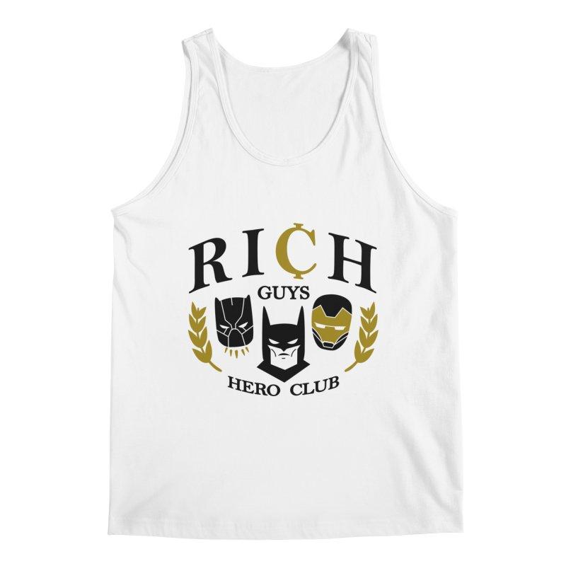 Rich Guys Hero Club Men's Tank by Daniel Stevens's Artist Shop