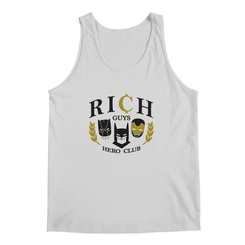 Rich Guys Hero Club Men's Regular Tank by Daniel Stevens's Artist Shop