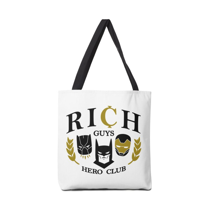 Rich Guys Hero Club Accessories Tote Bag Bag by Daniel Stevens's Artist Shop