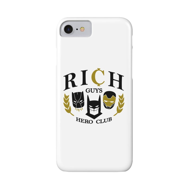 Rich Guys Hero Club Accessories Phone Case by Daniel Stevens's Artist Shop