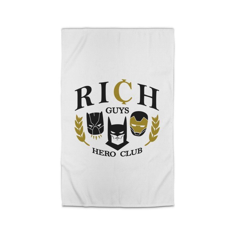 Rich Guys Hero Club Home Rug by Daniel Stevens's Artist Shop