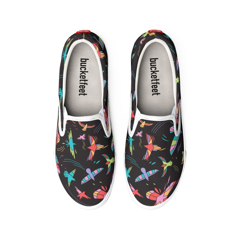 Flock Men's Shoes by Daniel Stevens's Artist Shop
