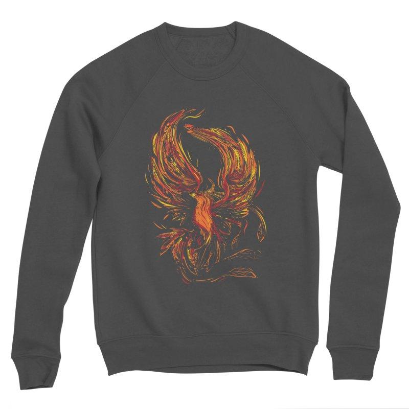 Phoenix Men's Sponge Fleece Sweatshirt by Daniel Stevens's Artist Shop
