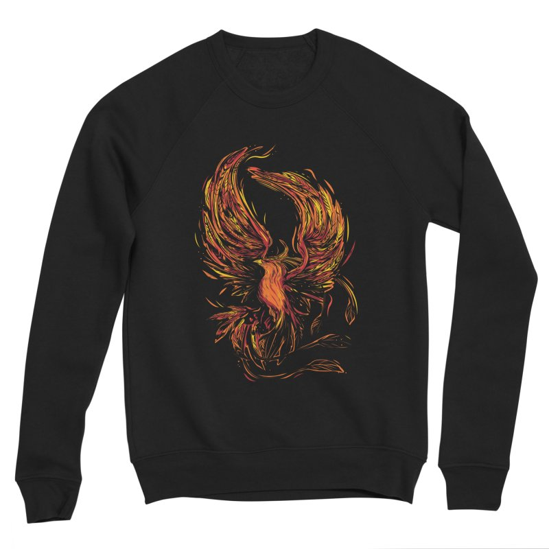 Phoenix Men's Sponge Fleece Sweatshirt by danielstevens's Artist Shop
