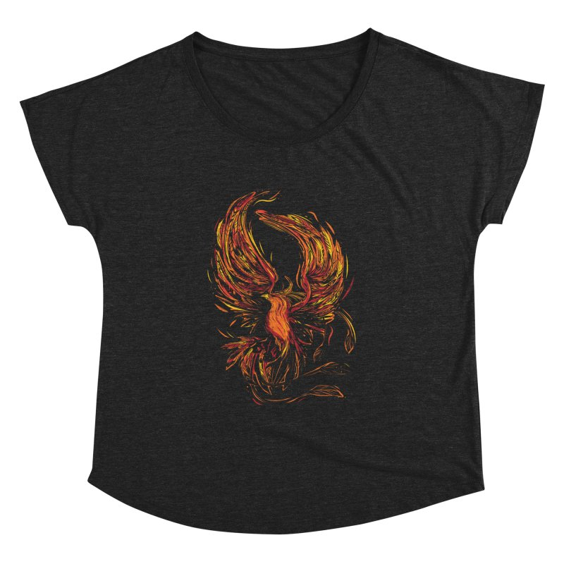 Phoenix Women's Dolman Scoop Neck by danielstevens's Artist Shop