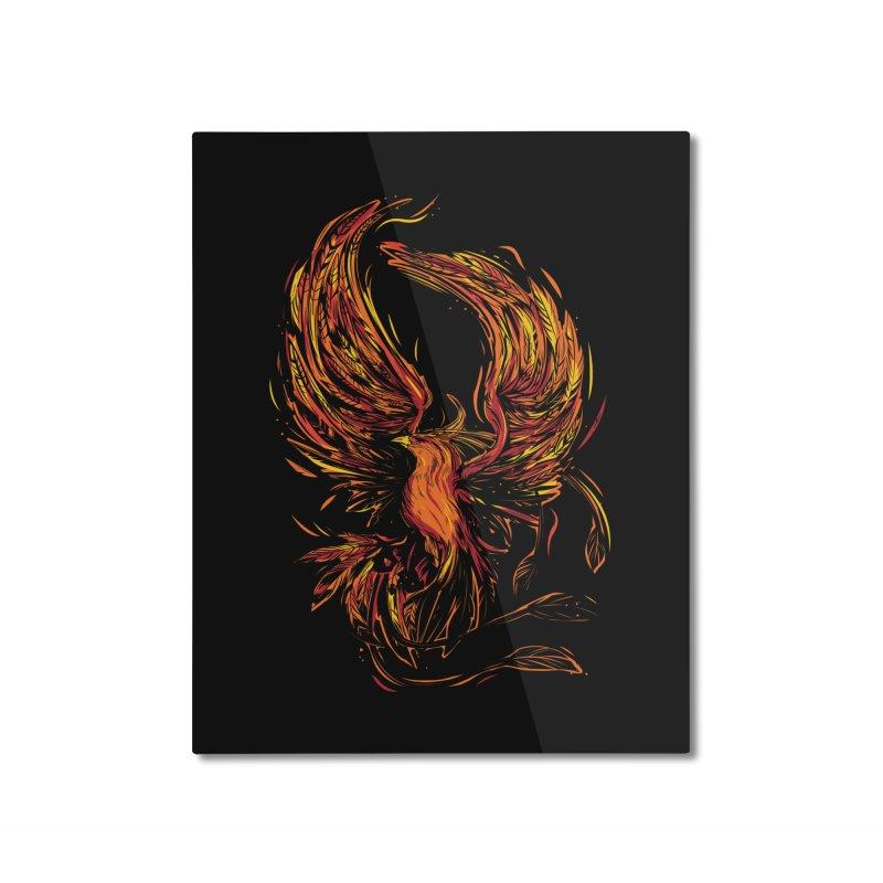 Phoenix Home Mounted Aluminum Print by Daniel Stevens's Artist Shop