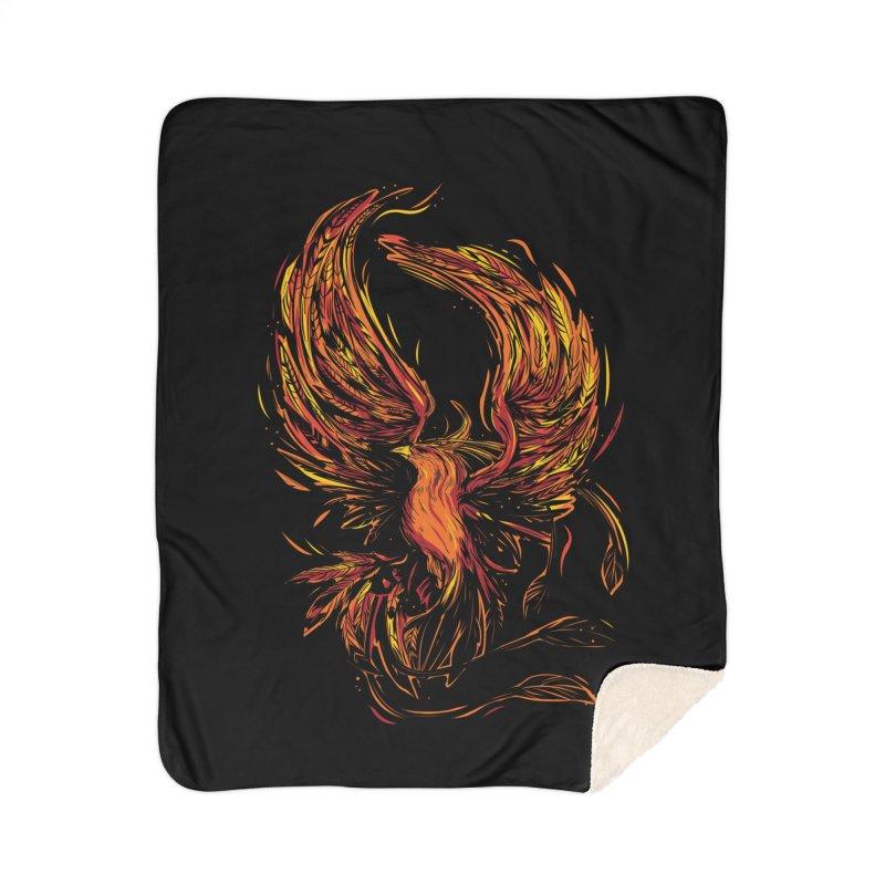 Phoenix Home Sherpa Blanket Blanket by Daniel Stevens's Artist Shop
