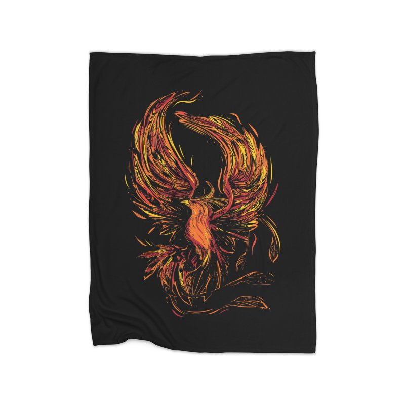 Phoenix Home Blanket by danielstevens's Artist Shop