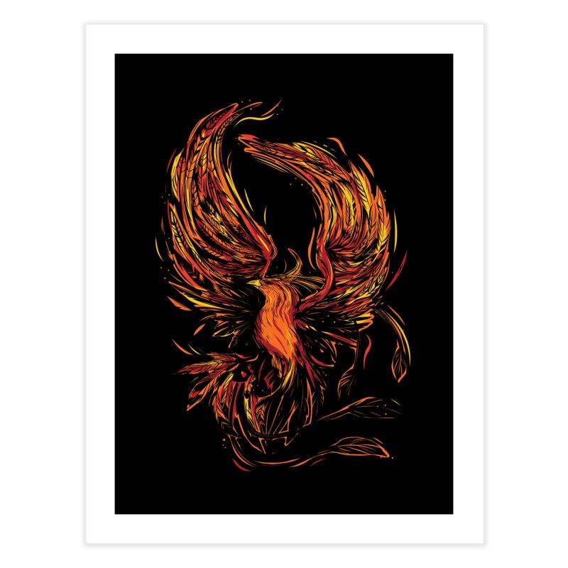 Phoenix Home Fine Art Print by Daniel Stevens's Artist Shop