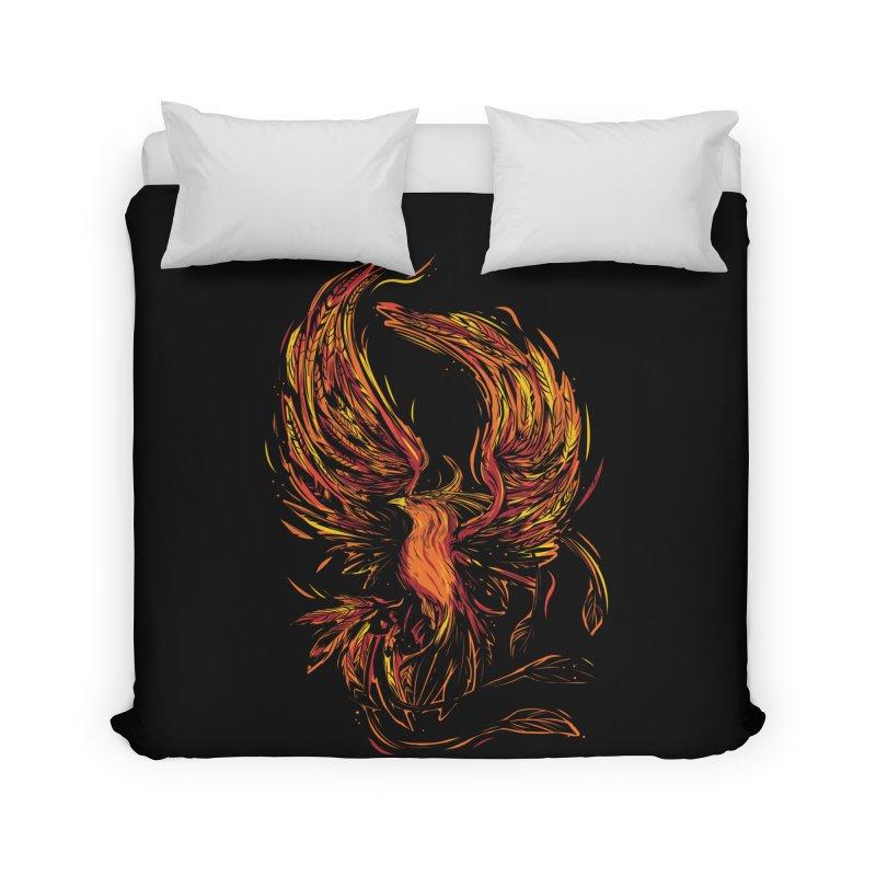 Phoenix Home Duvet by Daniel Stevens's Artist Shop