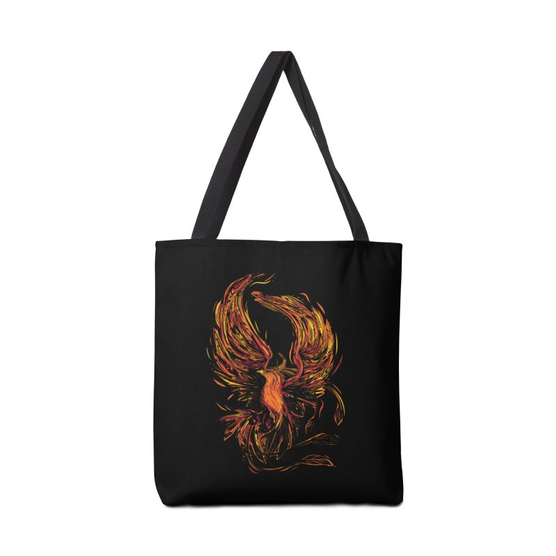 Phoenix Accessories Tote Bag Bag by Daniel Stevens's Artist Shop