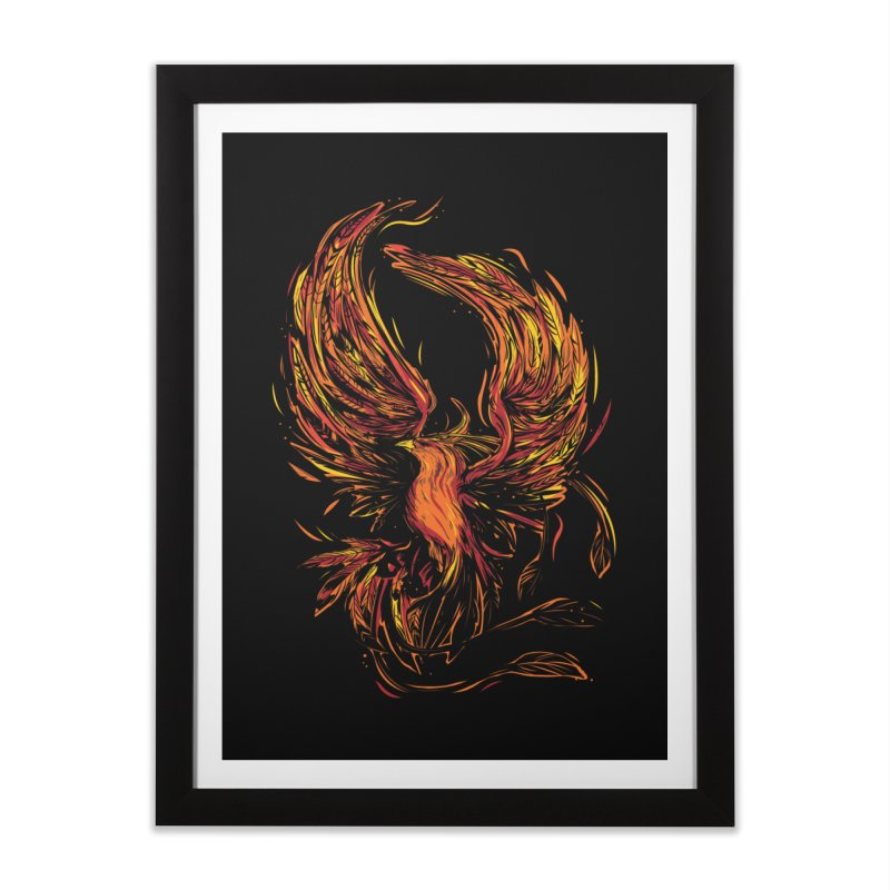 Phoenix Home Framed Fine Art Print by Daniel Stevens's Artist Shop