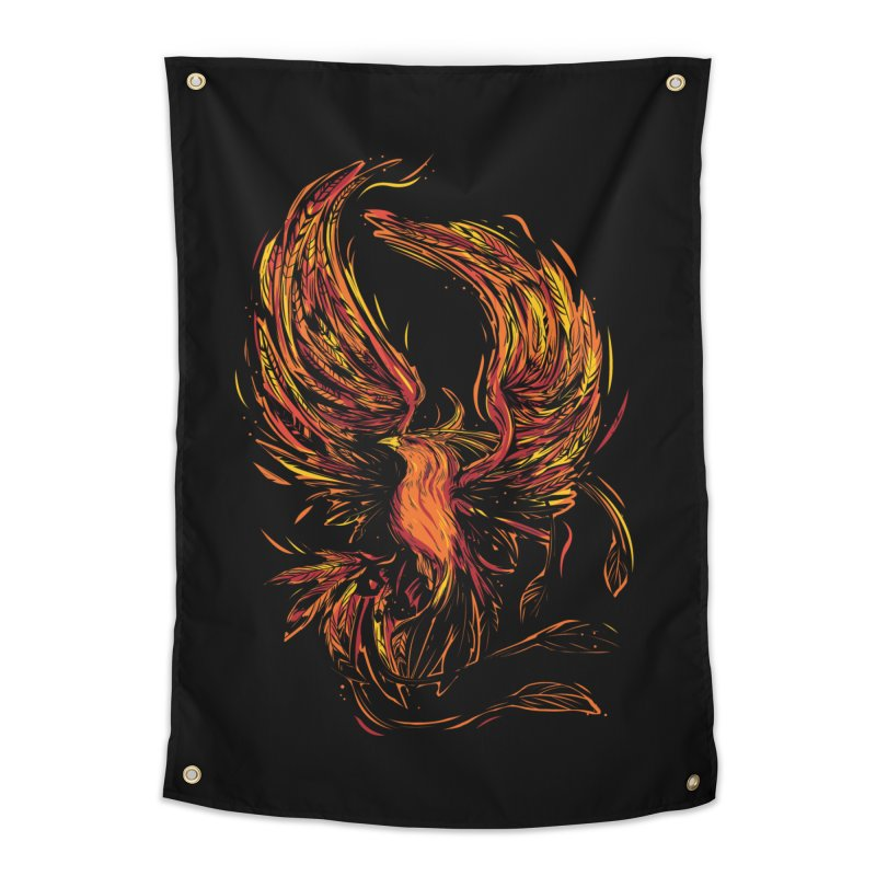 Phoenix Home Tapestry by Daniel Stevens's Artist Shop