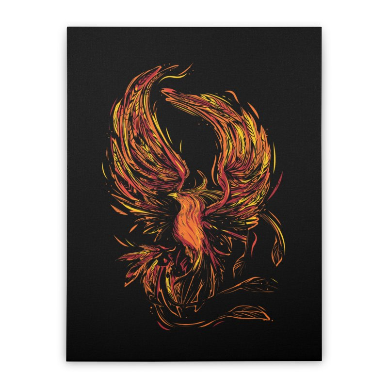 Phoenix Home Stretched Canvas by Daniel Stevens's Artist Shop