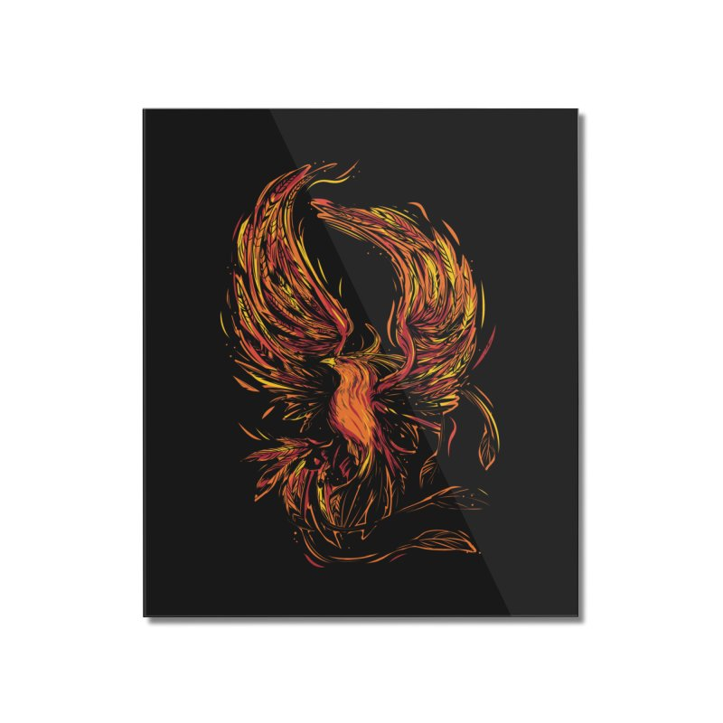 Phoenix Home Mounted Acrylic Print by danielstevens's Artist Shop