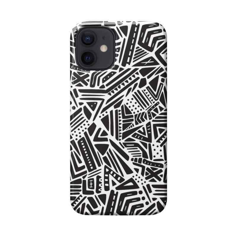 Geo Tribe Accessories Phone Case by Daniel Stevens's Artist Shop