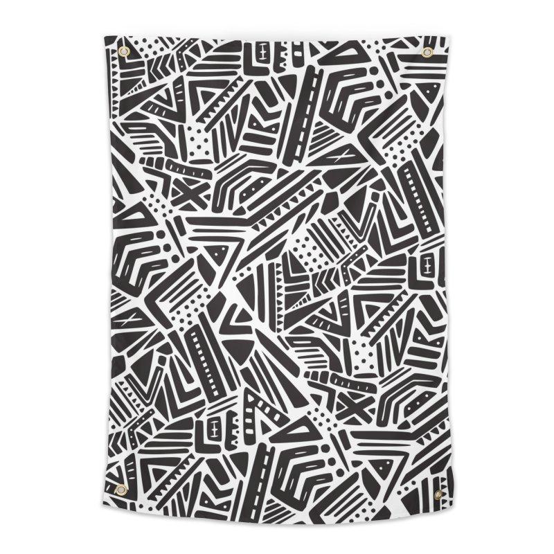 Geo Tribe Home Tapestry by Daniel Stevens's Artist Shop