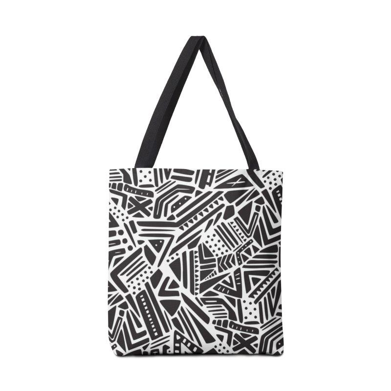 Geo Tribe Accessories Bag by Daniel Stevens's Artist Shop