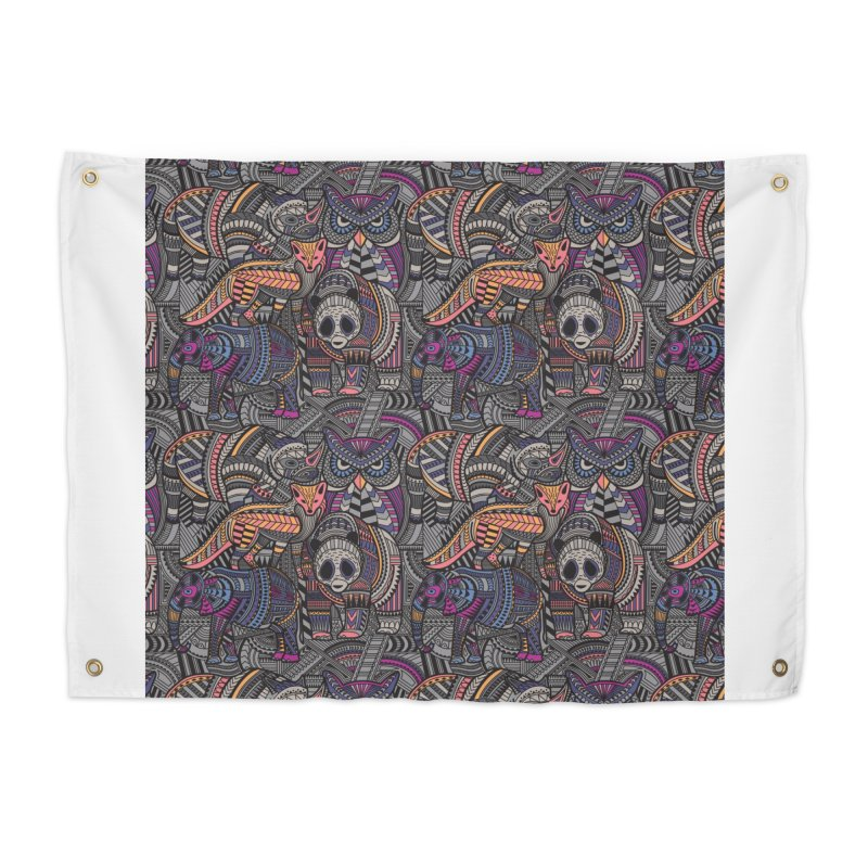 Nature's Tribe Home Tapestry by danielstevens's Artist Shop