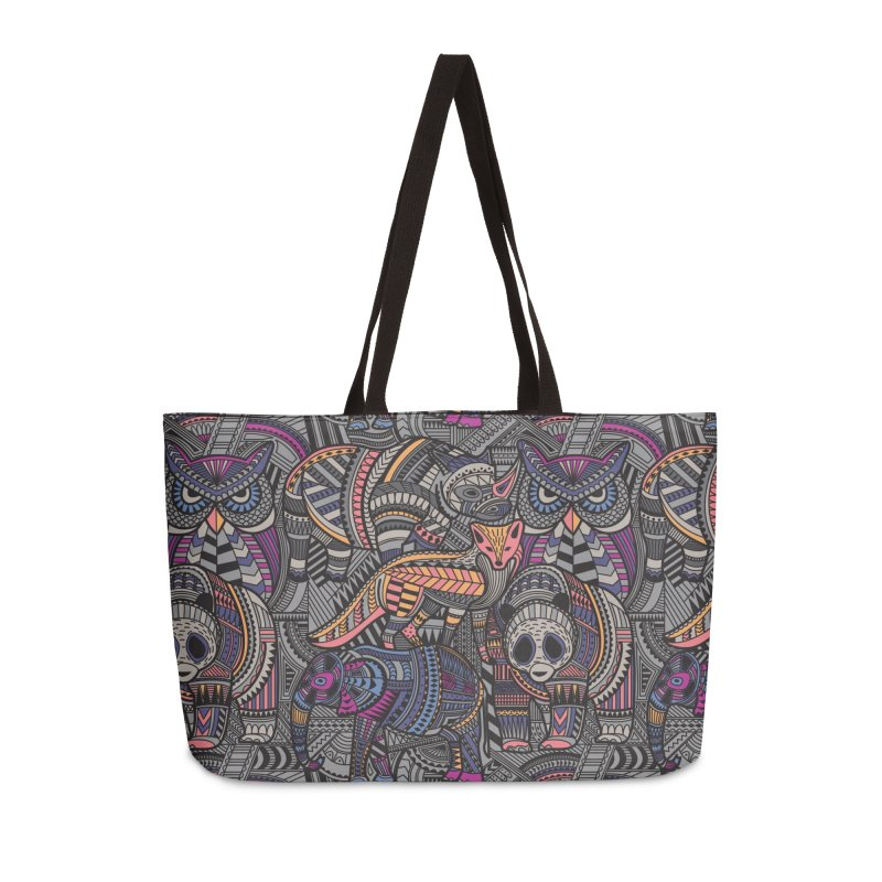 Nature's Tribe Accessories Weekender Bag Bag by Daniel Stevens's Artist Shop