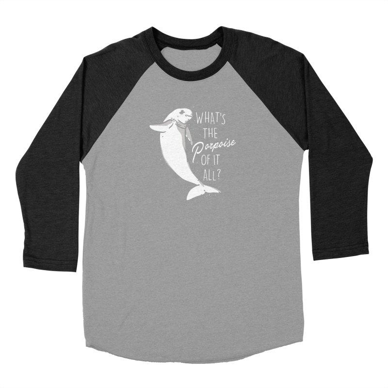 What's the Porpoise? Women's Longsleeve T-Shirt by Daniel Stevens's Artist Shop