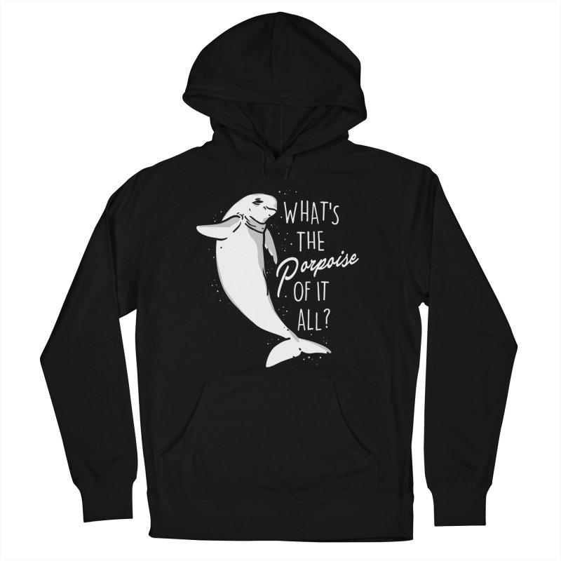 What's the Porpoise? Men's French Terry Pullover Hoody by danielstevens's Artist Shop