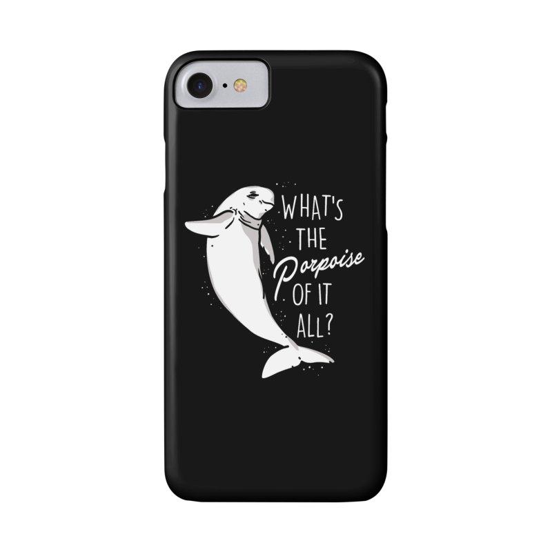 What's the Porpoise? Accessories Phone Case by Daniel Stevens's Artist Shop
