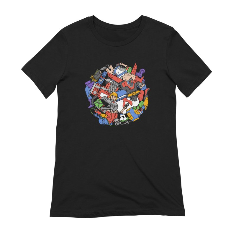 The Toy Box Women's Extra Soft T-Shirt by Daniel Stevens's Artist Shop