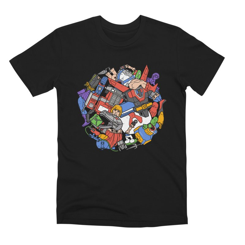 The Toy Box Men's Premium T-Shirt by Daniel Stevens's Artist Shop