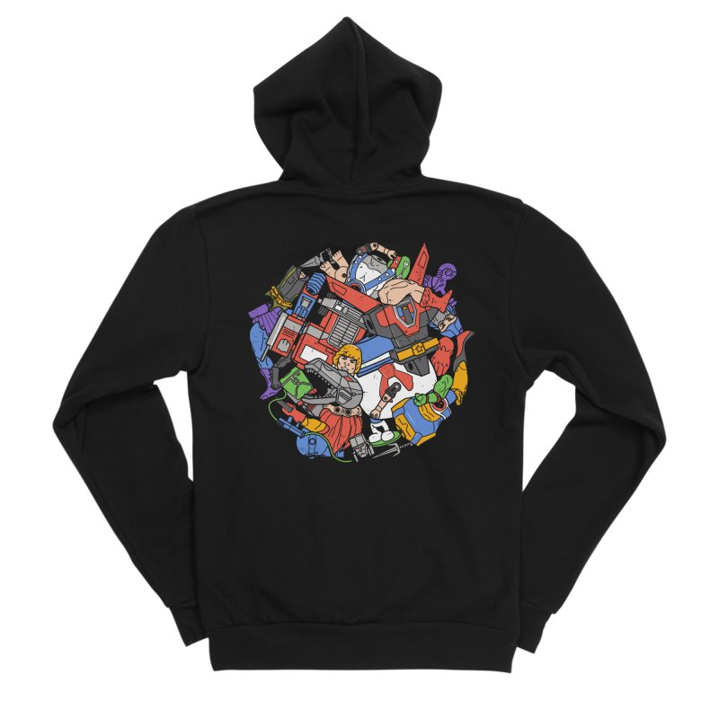 The Toy Box Women's Zip-Up Hoody by Daniel Stevens's Artist Shop