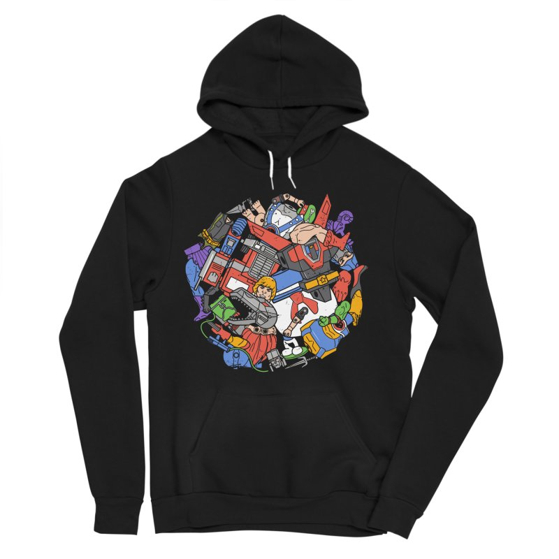The Toy Box Women's Sponge Fleece Pullover Hoody by Daniel Stevens's Artist Shop
