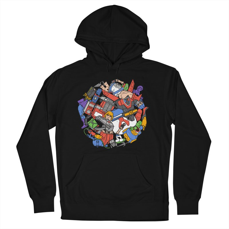 The Toy Box Men's Pullover Hoody by Daniel Stevens's Artist Shop