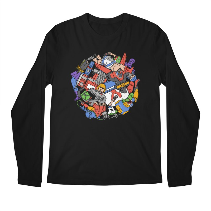 The Toy Box Men's Longsleeve T-Shirt by Daniel Stevens's Artist Shop