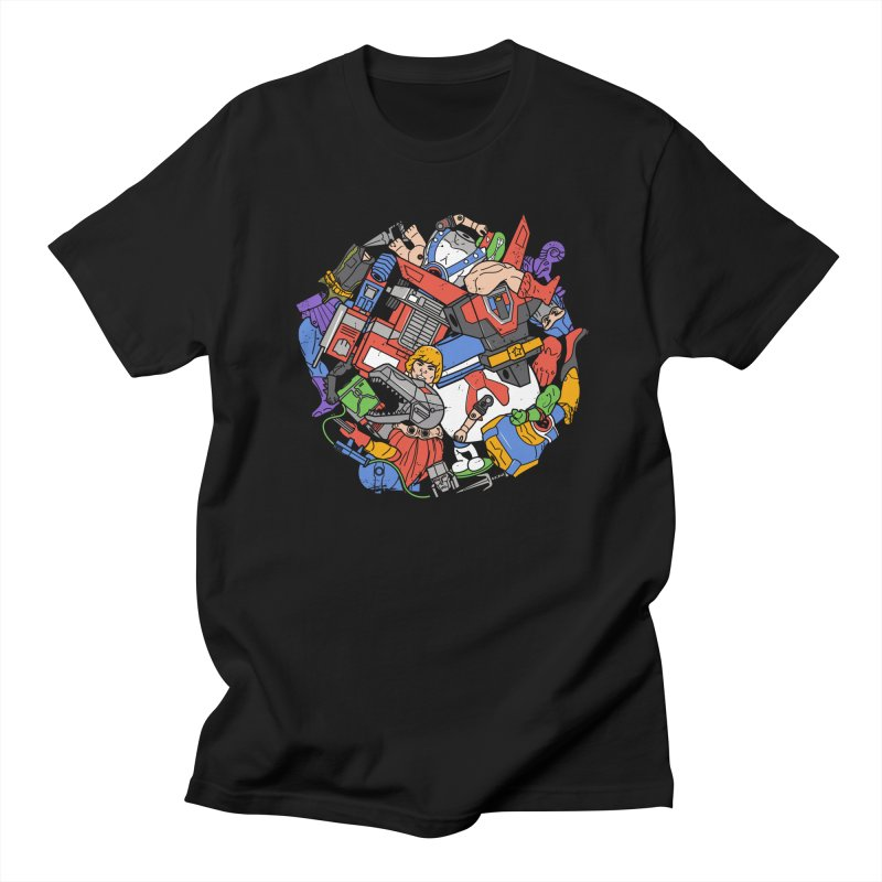 The Toy Box Men's T-Shirt by Daniel Stevens's Artist Shop