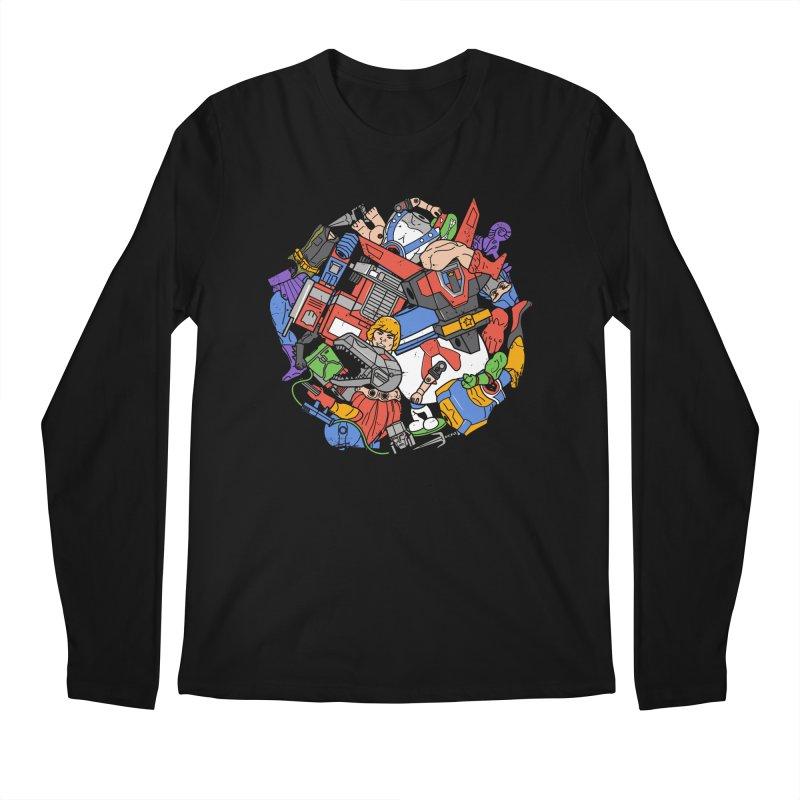 The Toy Box Men's Regular Longsleeve T-Shirt by Daniel Stevens's Artist Shop