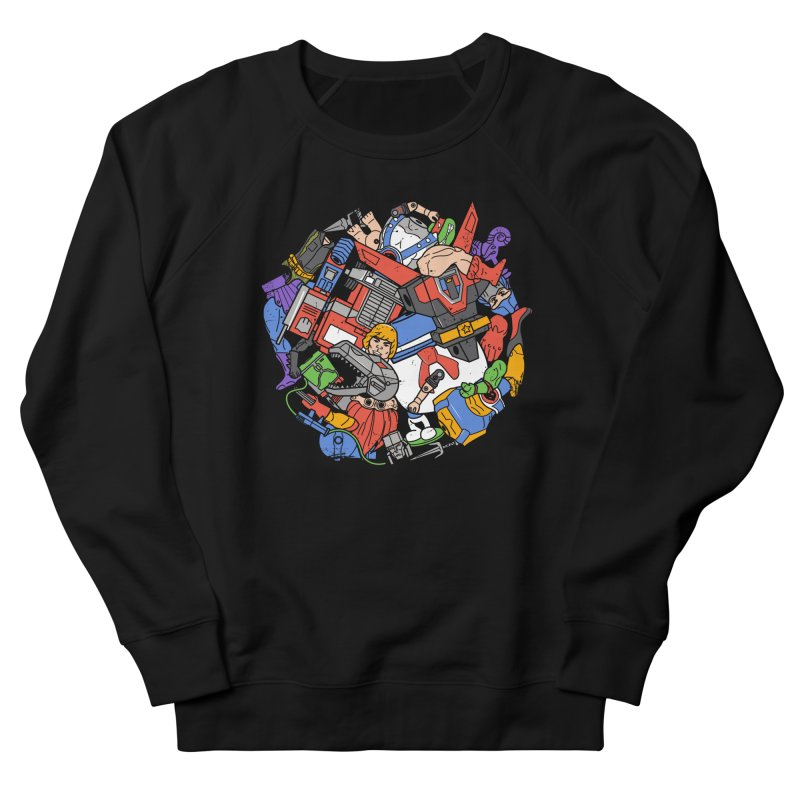 The Toy Box Men's French Terry Sweatshirt by Daniel Stevens's Artist Shop