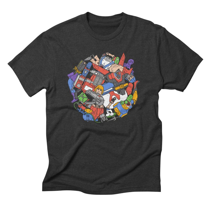 The Toy Box Men's Triblend T-Shirt by danielstevens's Artist Shop