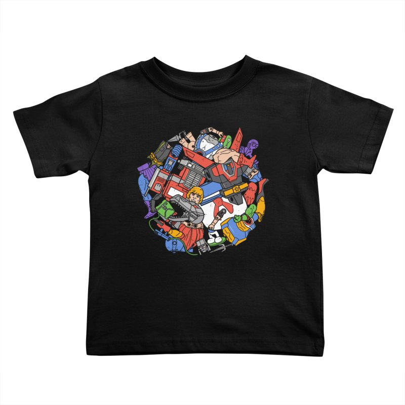 The Toy Box Kids Toddler T-Shirt by danielstevens's Artist Shop