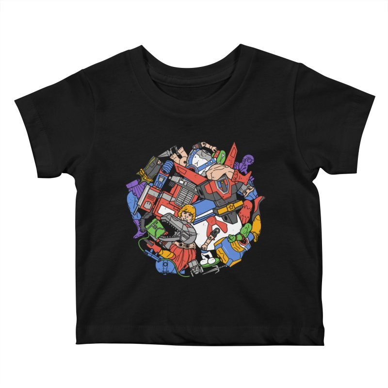 The Toy Box Kids Baby T-Shirt by danielstevens's Artist Shop